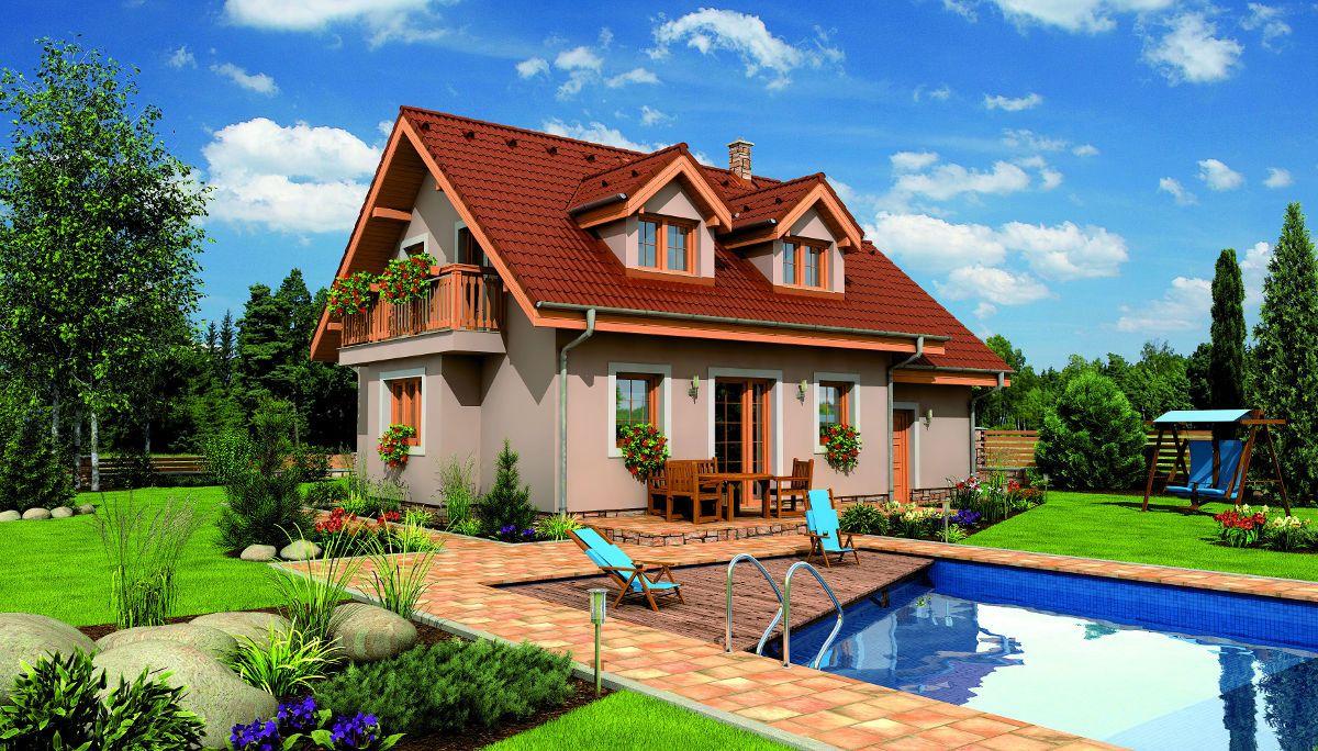 Rodinný dům Hit 2 Plus s bazénem