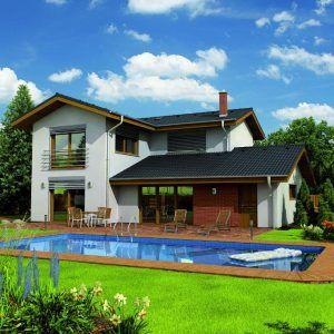 Dvoupatrový dům Amfora s bazénem