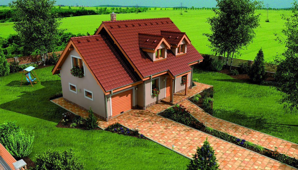 Rodinný dům Hit 2 Plus na pozemku