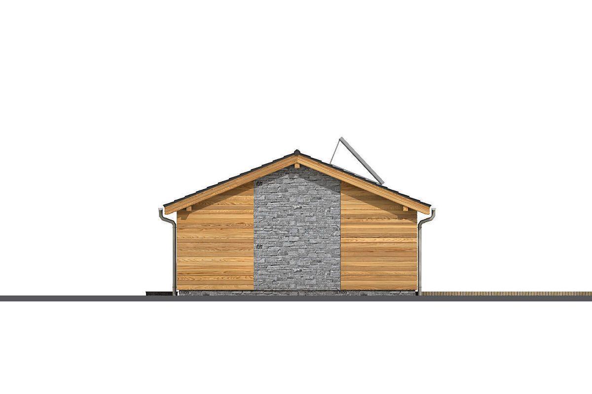 Boční strana domu GS Pasiv 12