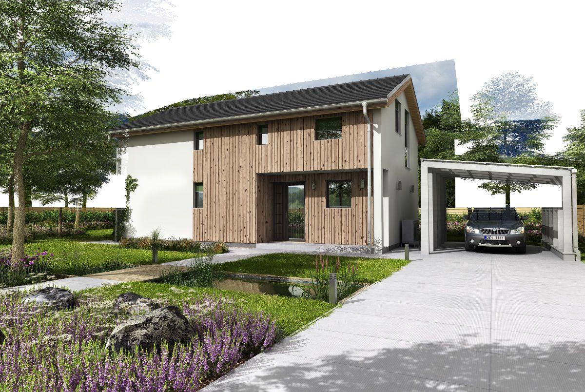 Dvoupatrový pasivní dům GS Pasiv 16