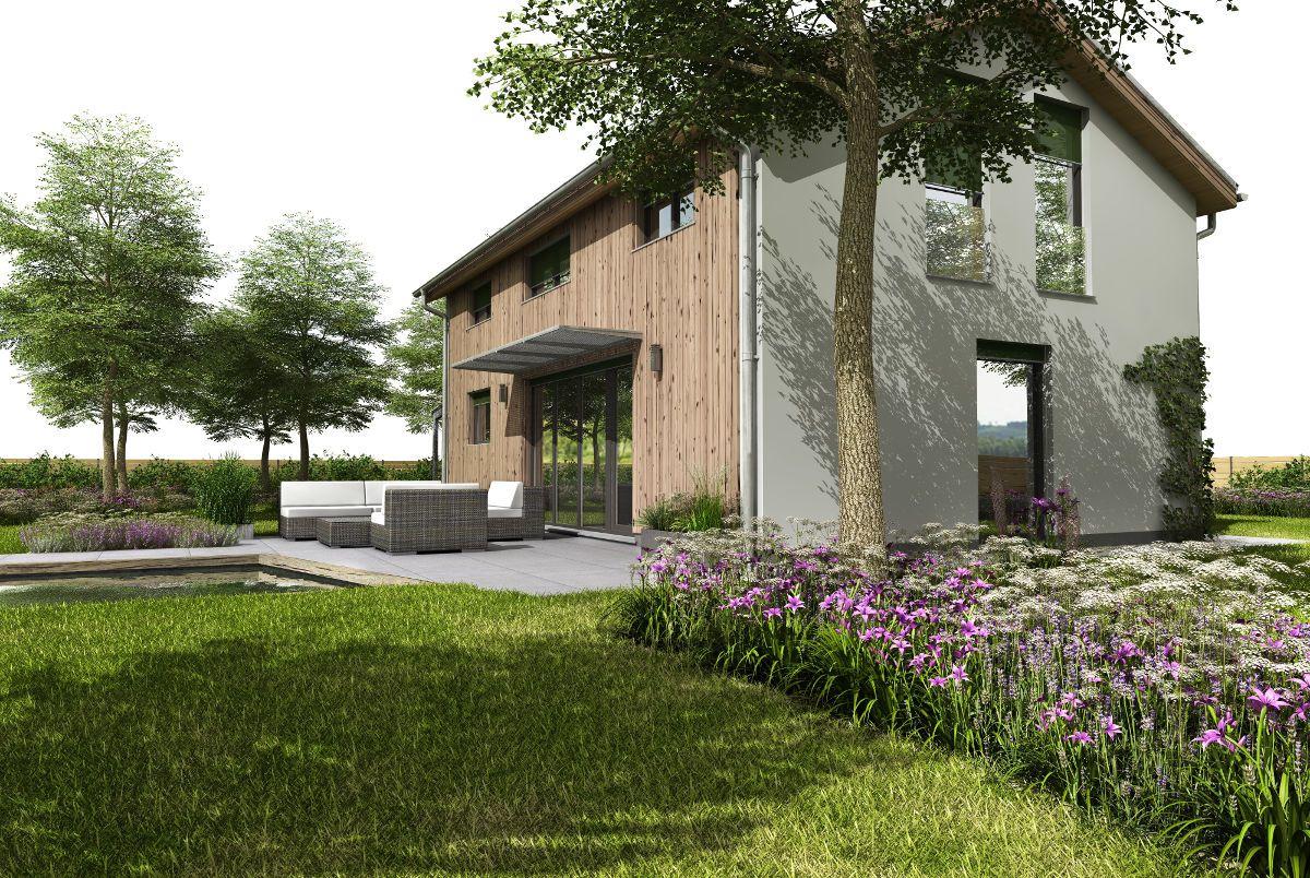 Pasivní dům GS Pasiv 16 se zahradou