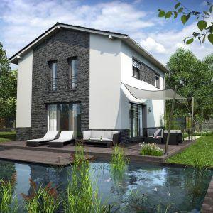 Pasivní dům s bazénem GS Pasiv 22