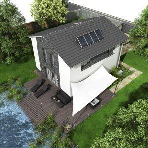 Pasivní dům GS Pasiv 22 na pozemku