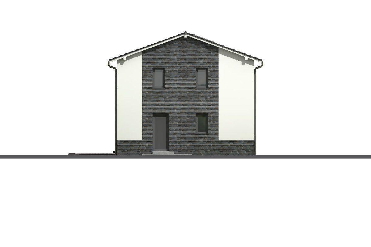 Průčelí pasivního domu GS Pasiv 22