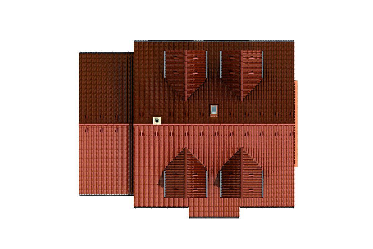 Střecha domu Hit 2 Plus