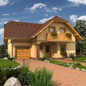 Dvoupatrový dům Premier 151 Plus pro větší rodinu
