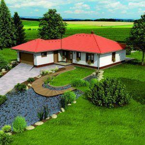 Přízemní dům Bungalow 5 Plus na pozemku