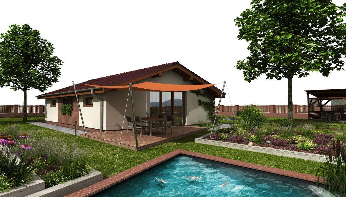 Bezbariérový bungalov Talon s bazénem