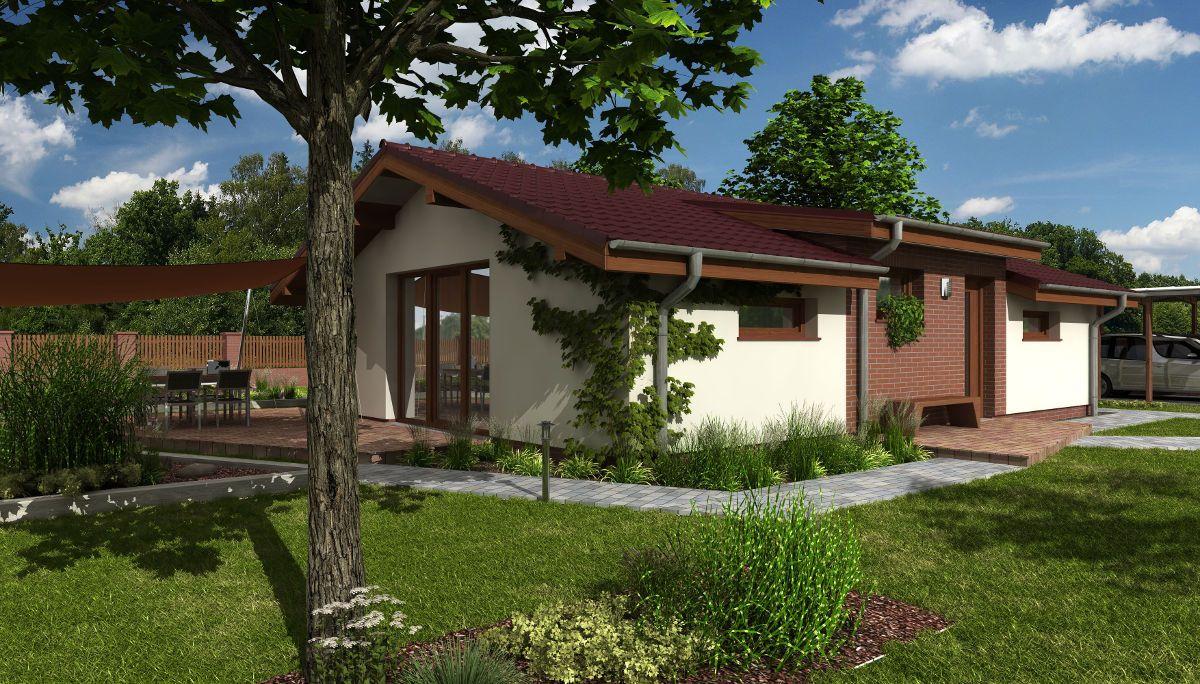 Bezbariérový bungalov Talon se zahradou