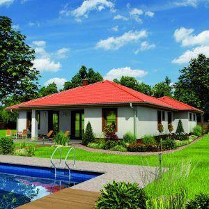 Přízemní dům Bungalow 5 Plus s bazénem
