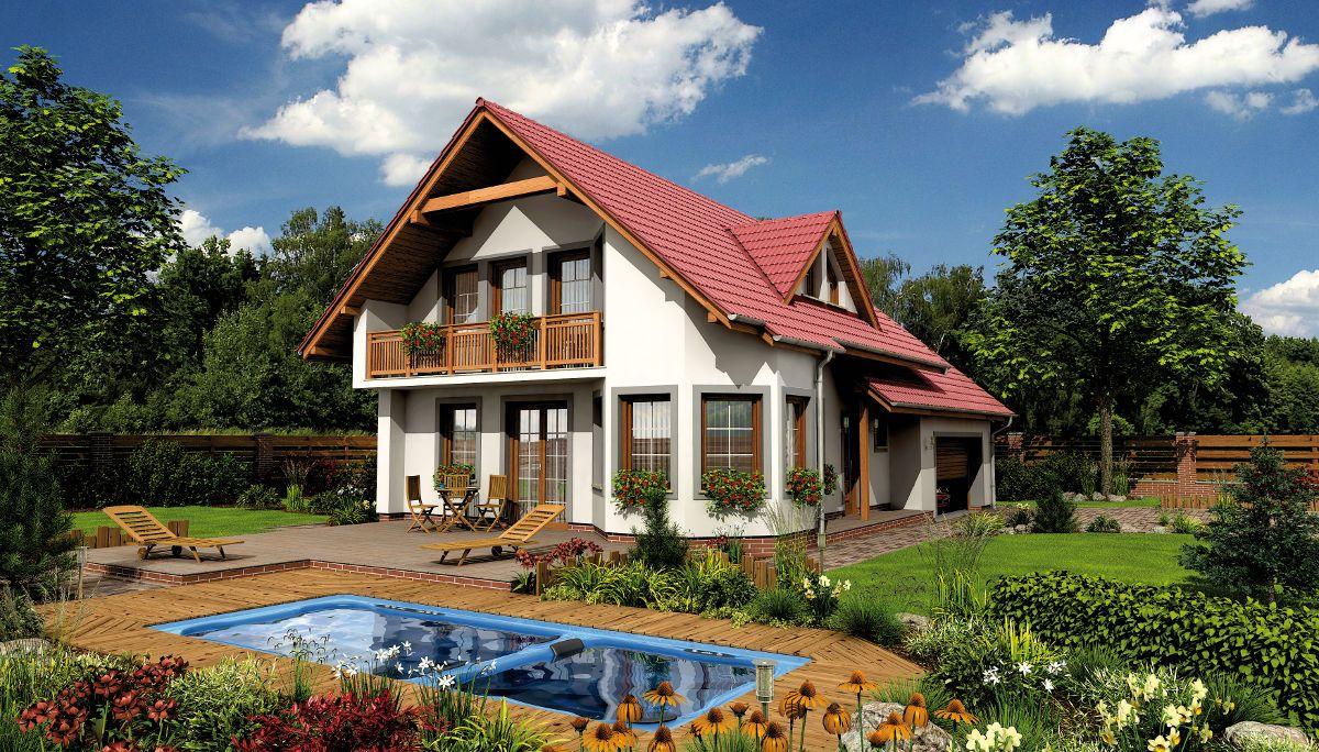 Rodinný dům Alfa 1 Plus s bazénem