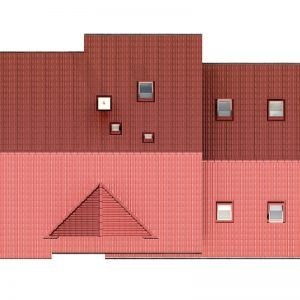 Střecha domu Alfa 1 Plus